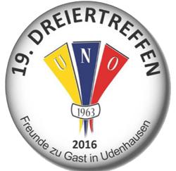 Dreiertreffen 2016 – Die drei Udenhausen feiern